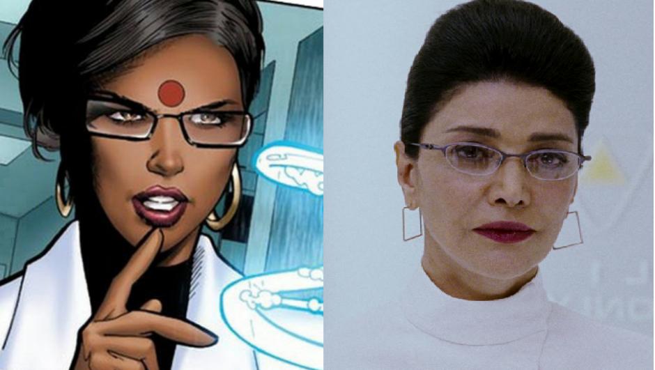 """זהו אתה הבדל הדמות של ד""""ר קביטה ראו. בסרט וקומיקס"""