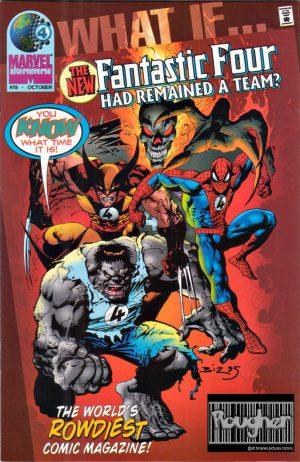 וולברין, הענק הירוק, ספיידרמן וגוסט ריידר היו הצוות החדש