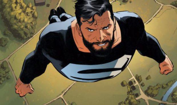 סופרמן בחליפה השחורה