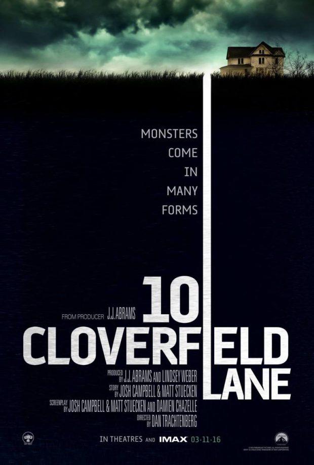 דרך קלוברפילד 10 -10 Cloverfield Lane