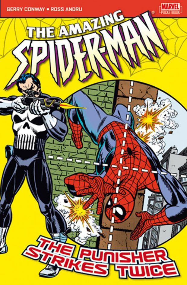 המעניש הופיעה לראשונה בקומיקס ספיידרמן המופלא 129