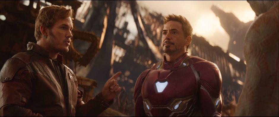 ספיידרמן מן, איירון מן וסטאר לורד באיחוד