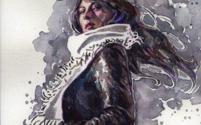 ג'ונס בעטיפות היפיפיות של הצייר דיוד מאק