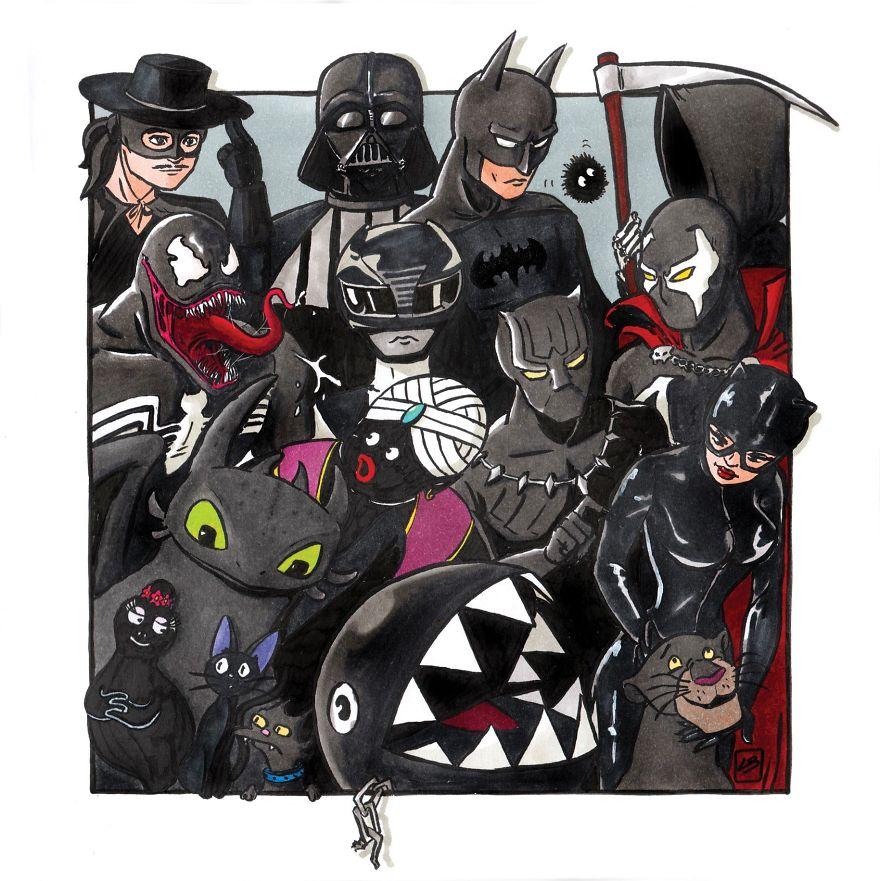 הצוות השחור