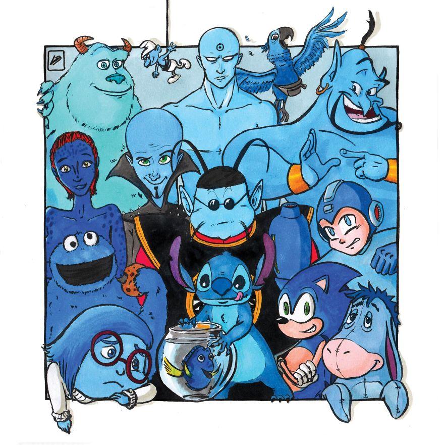 הצוות הכחול