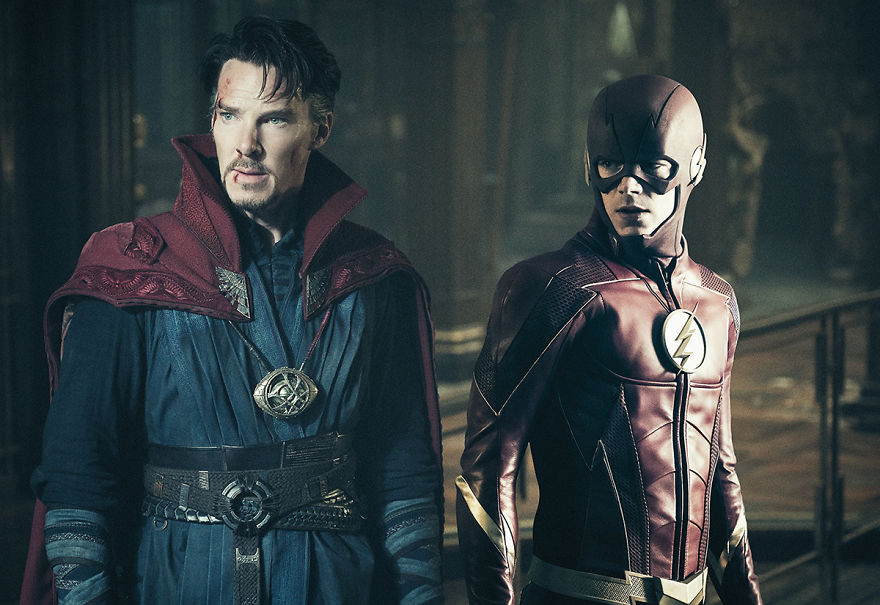 Doctor Strange (2016) / The Flash season 4 (2017)