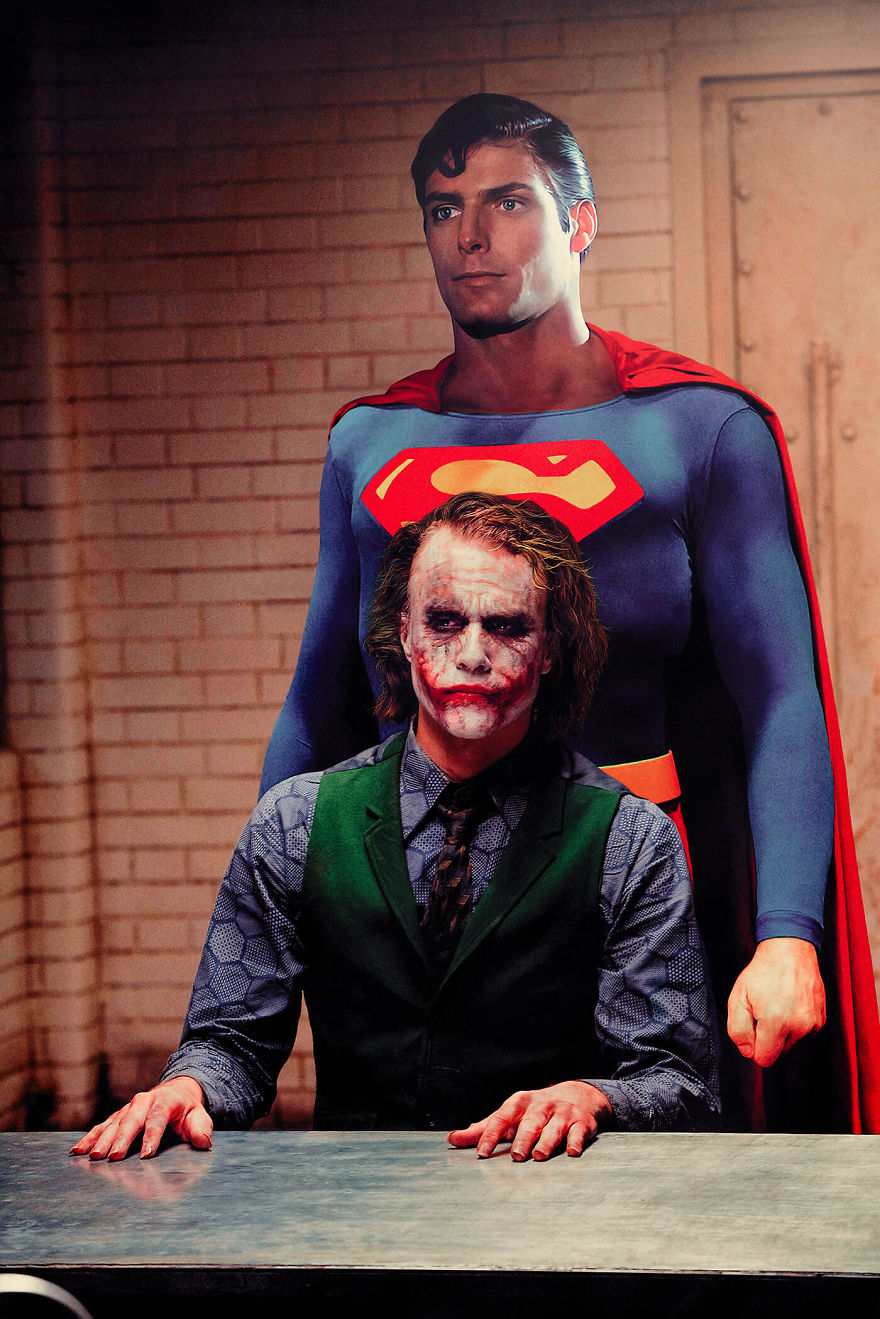Superman (1978) / The Dark Knight (2008)