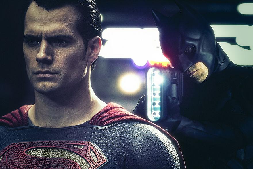 Batman v Superman: Dawn of Justice (2016) / The Dark Knight Rises (2012)