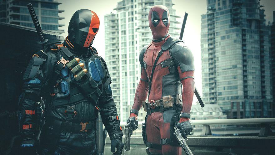 Deadpool 2 (2018) / Arrow season 6 (2017)