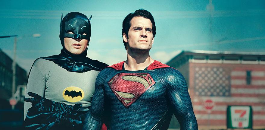 Batman (1966) / Man of Steel (2013)