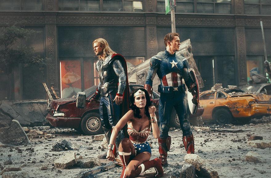 The Avengers (2012) / Wonder Woman (1975)