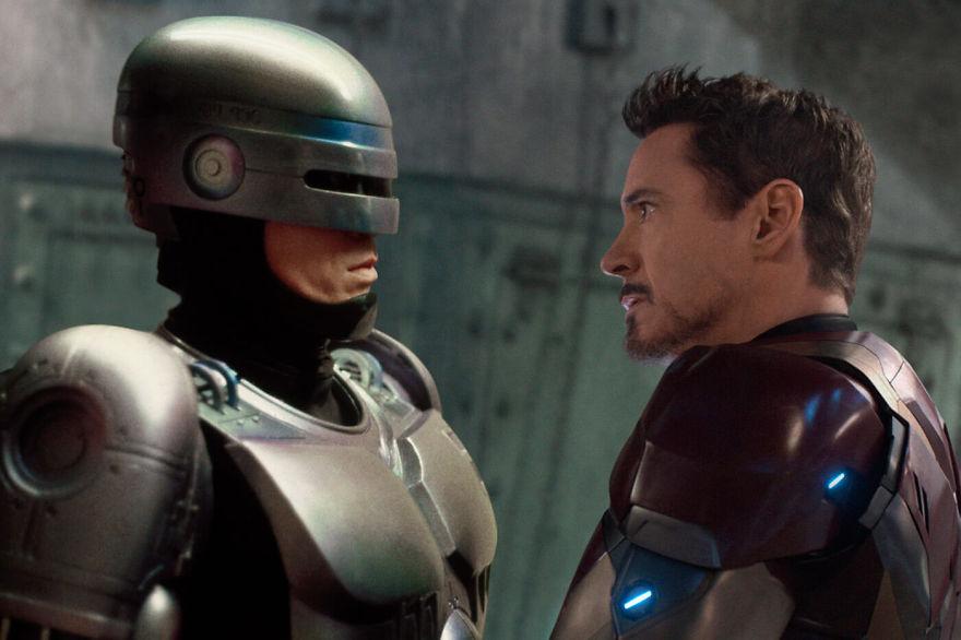 Captain America: Civil War (2016) / Robocop (1987)