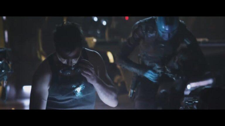 סטארק תקוע בחלל