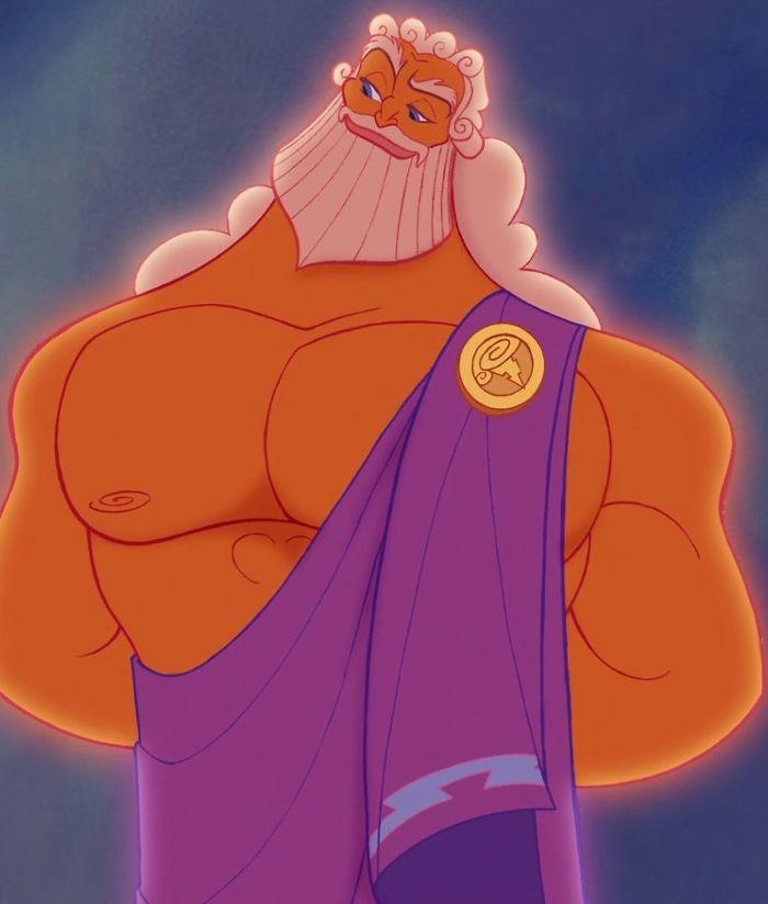 זאוס אבא של הרקולס