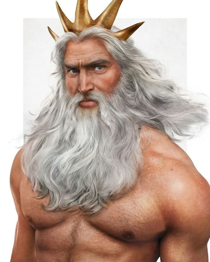 המלך טריטון אבא של אריאל